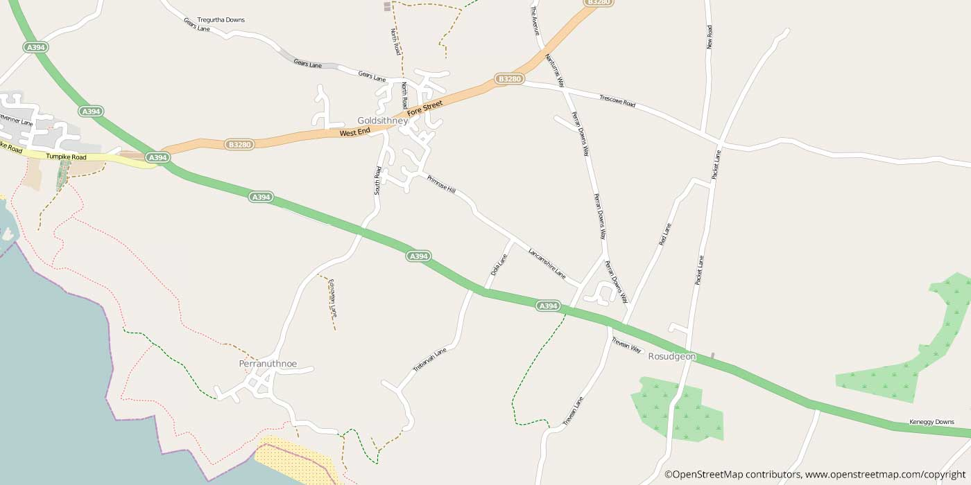 perranuthnoe-local-map
